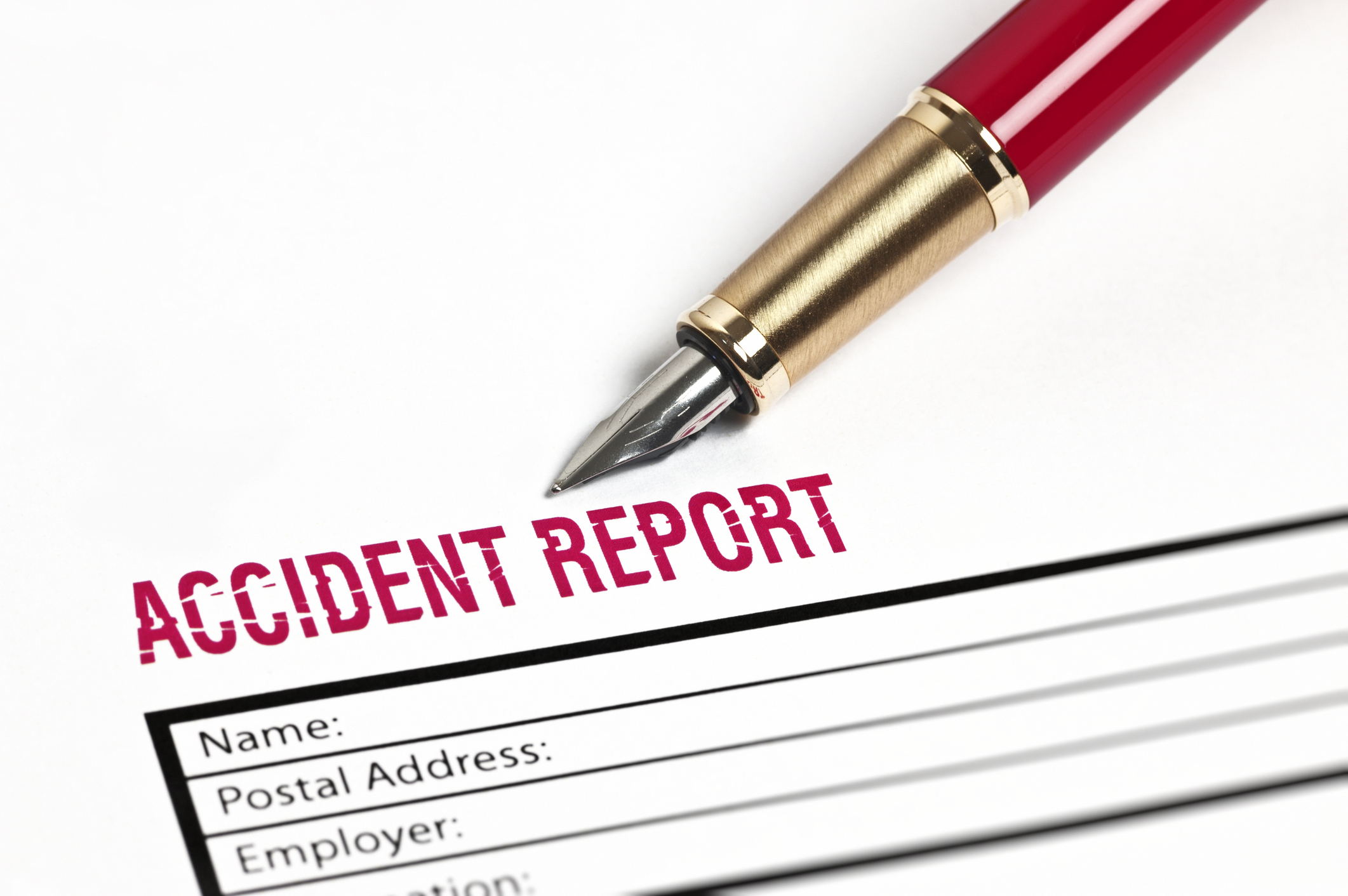 image of accident report