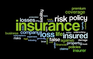 word image for various insurance terms