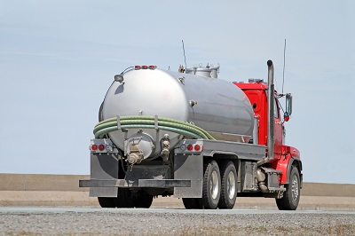 image of oil tanker truck