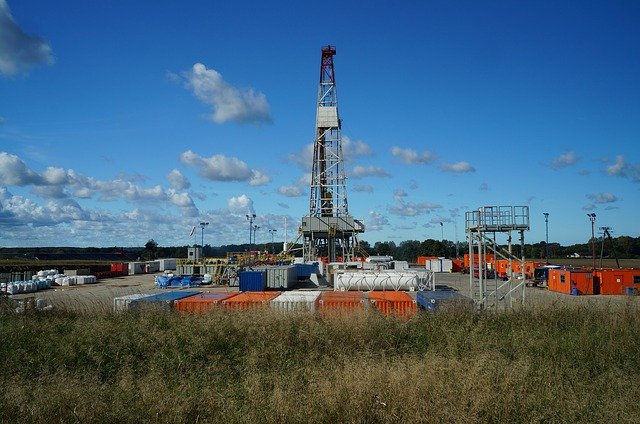 image of drilling rig