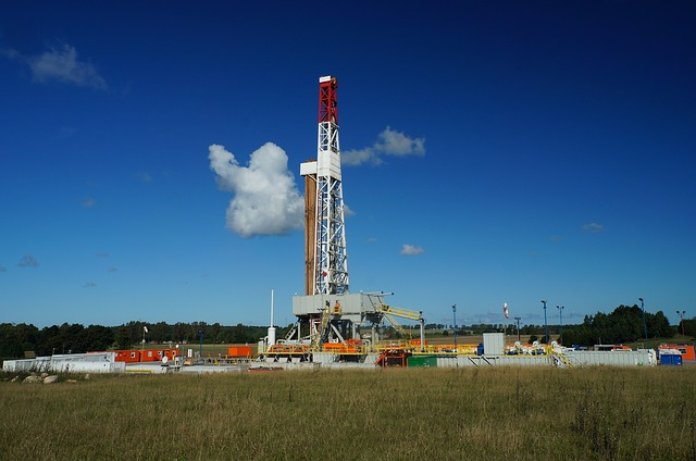 image of natural gas rig